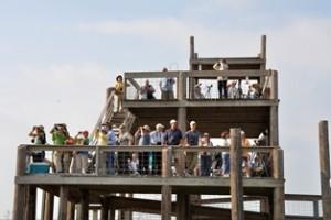 Tower visitor's (9/24/11) © Joe Kennedy